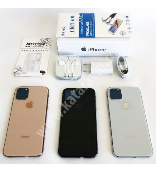 849 TL İPHONE 11 PRO , FULL EKRAN ,32 GB, FULL-HD, WİFİ, 4.5G ,16 MP, 5.8 İNÇ, SIFIR, KAPIDA ÖDEME