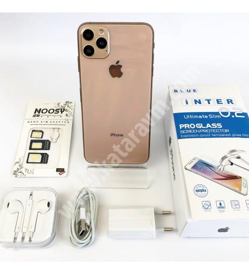 949 TL İPHONE 11 PRO MAX , FULL EKRAN -FULL HD, 32 GB, WİFİ, 4.5G ,16 MP, 6.5 İNÇ, SIFIR, KAPIDA ÖDEME