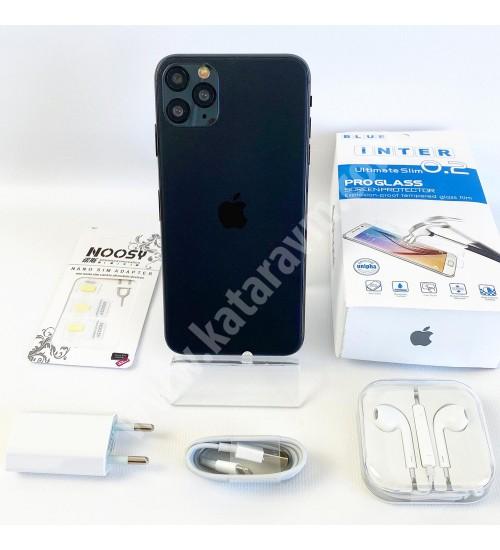 1.299 TL İPHONE 11 PRO MAX , FULL EKRAN -FULL HD, 32 GB, WİFİ, 4.5G ,16 MP, 6.5 İNÇ, SIFIR, KAPIDA ÖDEME